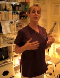 Yvonne takes viewers through a step-by-step process of the classic 15-minute chair massage