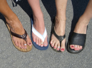 Right foot first with these 5 great tips for summer freshness