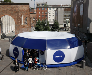 Nivea's Face Facts Campaign toured the UK with a skincare booth to allow women to seek individual advice about their skin