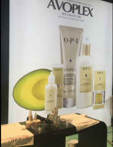 OPI's new stand at Professional Beauty London